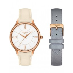 Tissot Ladies T-Lady Bella Ora Rose Gold Plated Watch T103.210.36.018.00