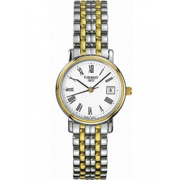 Tissot Ladies Two Tone Bracelet Watch T52.2.281.13