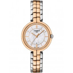 Tissot Ladies Flamingo Two Tone Watch T094.210.22.111.00