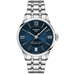 Tissot Ladies T-Classic Chemin Des Tourelles Powermatic Blue Watch T099.207.11.048.00