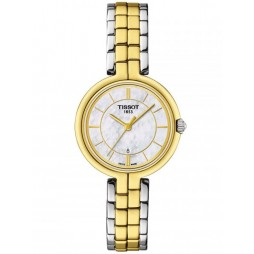 Tissot Ladies Flamingo Two Colour Watch T094.210.22.111.01