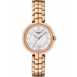 Tissot Ladies Flamingo Rose Gold Watch T094.210.33.111.01