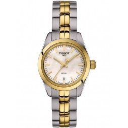 Tissot Ladies T-Classic PR-100 Gold Plated Watch T101.010.22.111.00