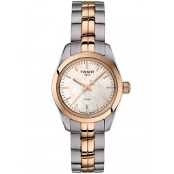 Tissot Ladies Pr 100 Rose Gold Plated Watch T101.010.22.111.01
