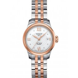 Tissot Ladies T-Classic Le Locle Two Tone Watch T41.2.183.16