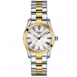 Tissot Ladies T-Lady T-Wave Two Tone Bracelet Watch T112.210.22.113.00