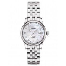 Tissot Ladies T-Classic Le Locle Automatic Lady Diamond Bracelet Watch T006.207.11.116.00