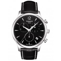 Tissot Mens T-Classic Tradition Strap Watch T063.617.16.057.00