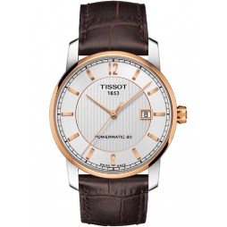 Tissot Mens Titanium T2 Automatic Strap Watch T087.407.56.037.00