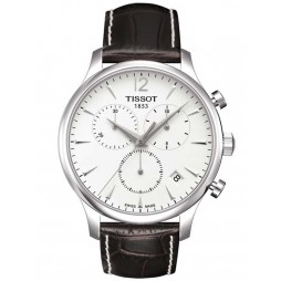 Tissot Mens T-Classic Tradition Strap Watch T063.617.16.037.00
