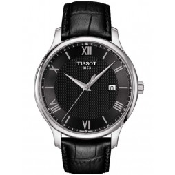 Tissot Mens T-Classic Tradition Strap Watch T063.610.16.058.00