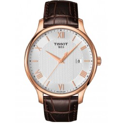 Tissot Mens T-Classic Tradition Strap Watch T063.610.36.038.00