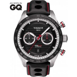Tissot Mens PRS516 Automatic Chronograph Watch T100.427.16.051.00