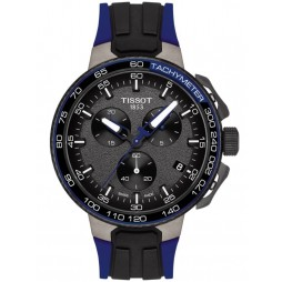 Tissot Mens T-Race Cycling Dark Blue Watch T111.417.37.441.06