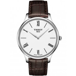Tissot Mens T-Classic Tradition Brown Watch T063.409.16.018.00