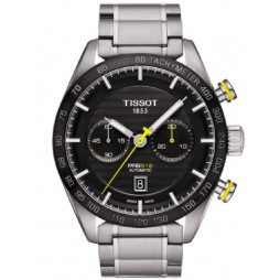 Tissot Mens PRS516 Automatic Bracelet Watch T100.427.11.051.00
