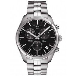 Tissot Mens T-Classic PR-100 Chronograph Watch T101.417.11.051.00