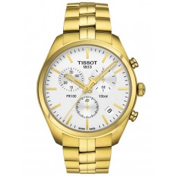 Tissot Mens T-Classic PR100 Chronograph Watch T101.417.33.031.00