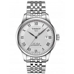 Tissot Mens T-Classic Le Locle Powermatic 80 Bracelet Watch T006.407.11.033.00