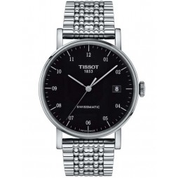 Tissot Mens T-Classic Everytime Swissmatic Bracelet Watch T109.407.11.052.00