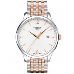 Tissot Mens T-Classic Tradition Bracelet Watch T063.610.22.037.01