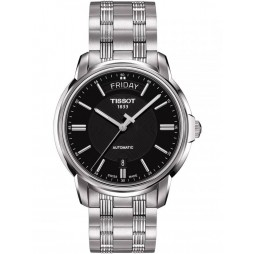 Tissot Mens T-Classic Automatics III Black Watch T065.930.11.051.00