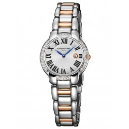 Raymond Weil Ladies Two Tone Silver Dial Watch 5229-S5S00659