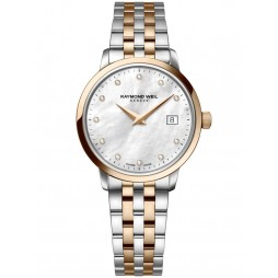 Raymond Weil Ladies Toccata Diamond Bracelet Watch 5988-SP5-97081
