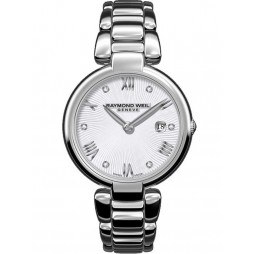 Raymond Weil Ladies Shine Diamond Bracelet Watch 1600-ST-000618