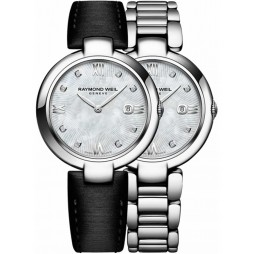 Raymond Weil Ladies Diamond Bracelet Watch 1600-STS000995