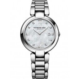 Raymond Weil Ladies Shine Diamond Bracelet Watch 1600-ST-000995