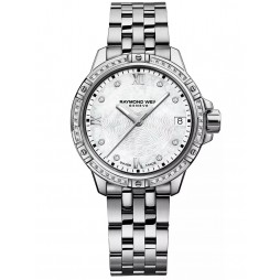 Raymond Weil Ladies Tango Classic Diamond Bezel Bracelet Watch 5960-STS000995