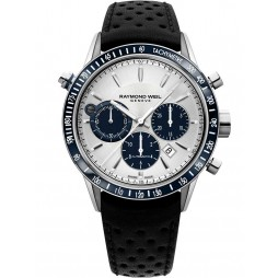 Raymond Weil Mens Freelancer Automatic Chronograph Strap Watch 7740-SC3065521
