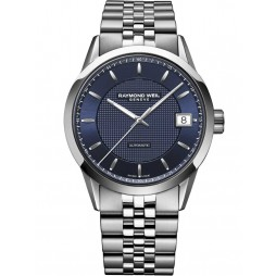 Raymond Weil Mens Freelancer Bracelet Watch 2740-ST50021