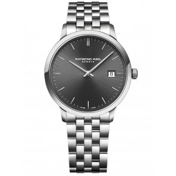 Raymond Weil Mens Toccata Classic Steel Grey Dial Bracelet Watch 5485-ST-60001