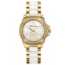 Thomas Sabo Ladies Two Tone Bracelet Watch WA0161-262-202