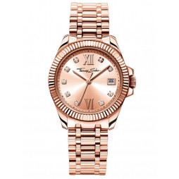 Thomas Sabo Ladies Rose Gold Tone Watch WA0220-265-208