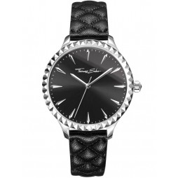 Thomas Sabo Ladies Rebel Black Watch WA0321-203-203-38MM