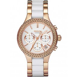 DKNY Ladies Ceramic Fashion Watch NY8183