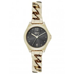 DKNY Ladies Gold Plated Watch NY2425