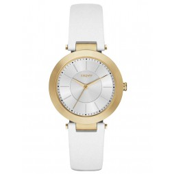 DKNY Ladies White Strap Watch NY2295
