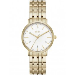 DKNY Ladies Minetta Gold Plated Bracelet Watch NY2503