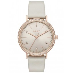 DKNY Minetta Rose Gold Plated Strap Watch NY2609