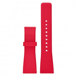 Michael Kors Ladies Access Bradshaw Red Rubber Watch Strap MKT9003