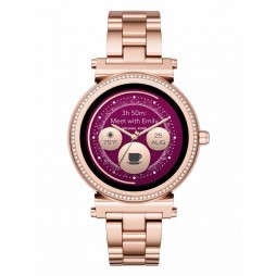 Michael Kors Access Sofie Rose Gold Plated Smartwatch MKT5022