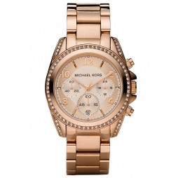 Michael Kors Ladies Blair Glitz Watch MK5263