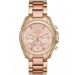 Michael Kors Ladies Blair Two Tone Bracelet Watch MK6316