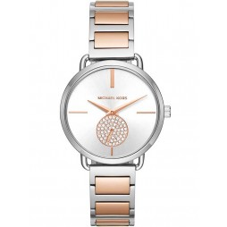 Michael Kors Ladies Portia Two Colour Bracelet Watch MK3709