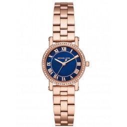 Michael Kors Ladies Petite Norie Rose Gold-plated Bracelet Watch MK3732