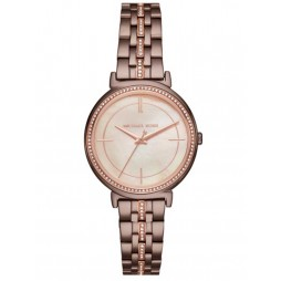 Michael Kors Ladies Cinthia Brown Bracelet Watch MK3737